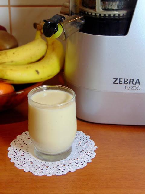 Koktajl jogurtowo-bananowy