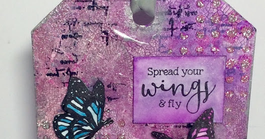 Altered Eclectics: Butterfly Tag Art Board