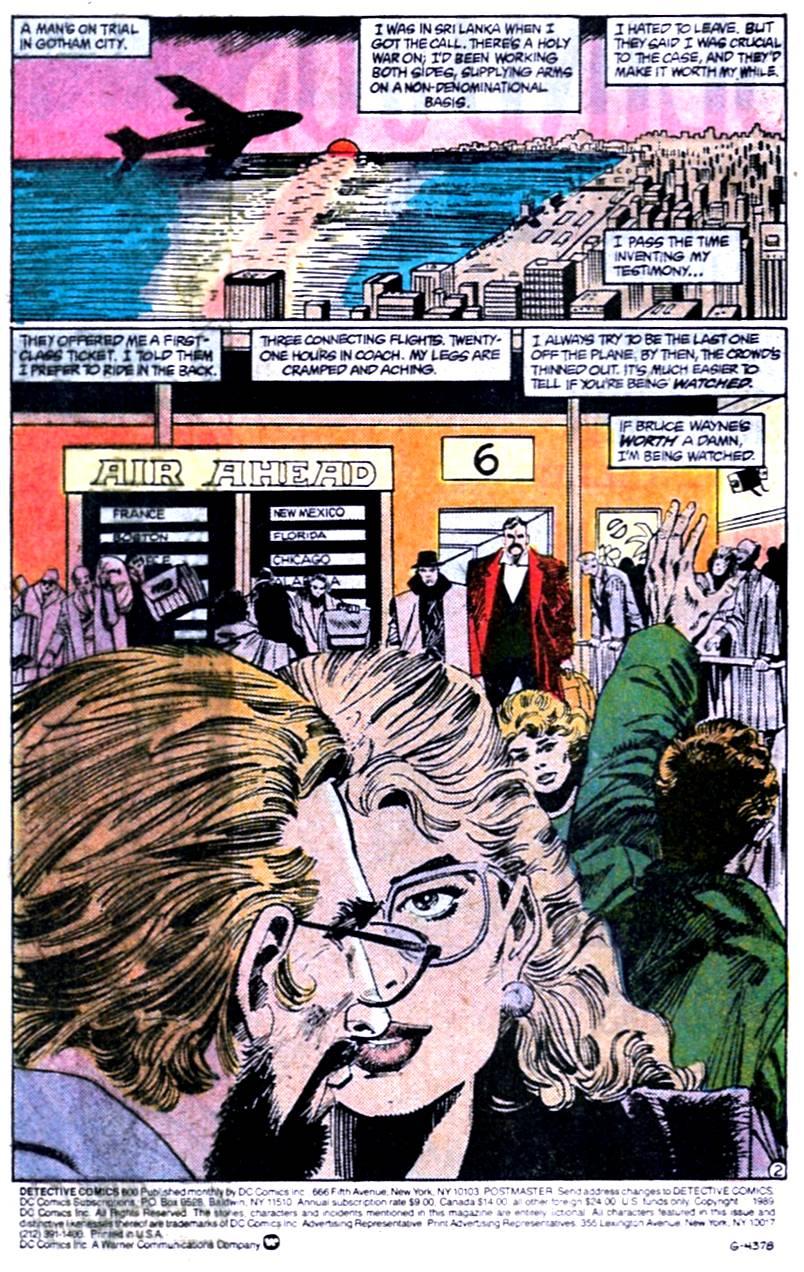 Detective Comics (1937) 600 Page 2