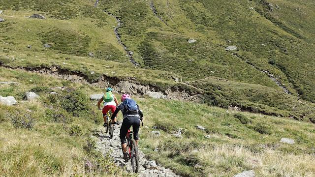 Bikebergsteigen in Südtirol MTB