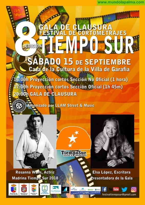 La gala de clausura y entrega de premios del Festival de Cortometrajes Tiempo Sur tendrá lugar este sábado