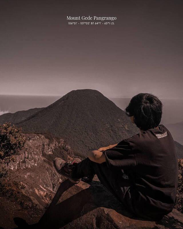 Pedakian Gunung Gede Pangrango Dibuka Kembali foto instagram erond_02