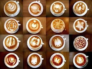 seni menyajikan kopi