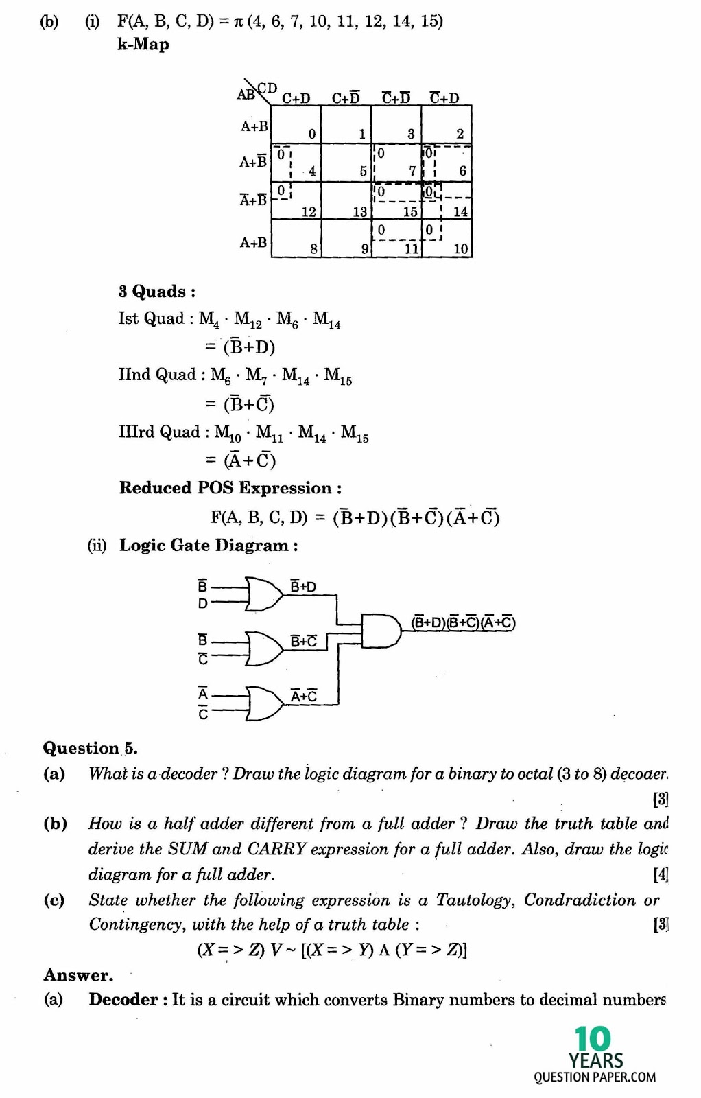 isc 2016 computer science solved paper 10 years question paper isc 2016 class 12th computer science paper solved