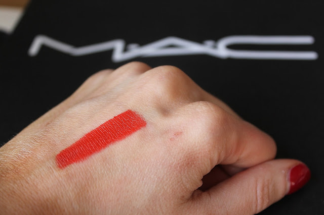 MAC Lady Danger Swatch