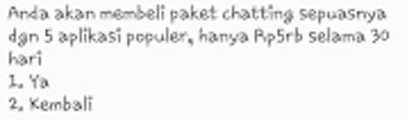 Paket Chatting Tri Terbaru