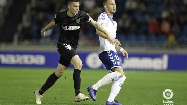 El Málaga suma un punto de su visita a Tenerife (0-0)