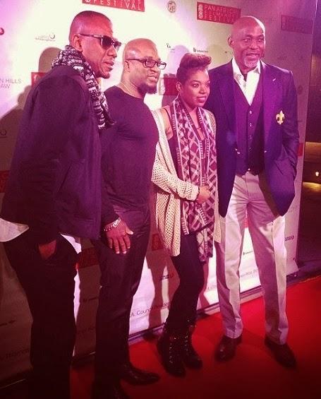 annie idibia african film festival