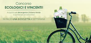 Logo Concorso L'Albero Verde e vinci 30 city bike ''Riviera''