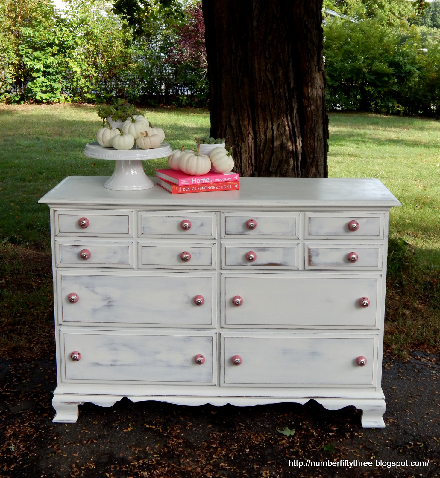 dresser handpainted furniture white undertone vintage gallery fullxfull top with ipsi coat gray