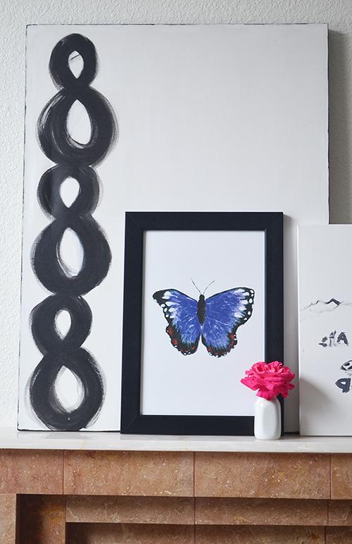 spring art print idea, butterfly art print, beautiful art print, vintage chic butterfly art poster, bohemian butterfly art print home decor, modern home decor art print