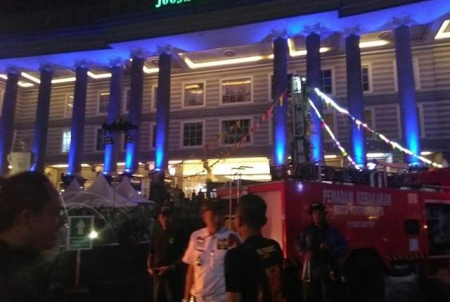 Kebakaran di Jogja City Mall Rabu Malam