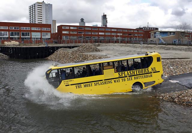Splashtours em Roterdã na Holanda