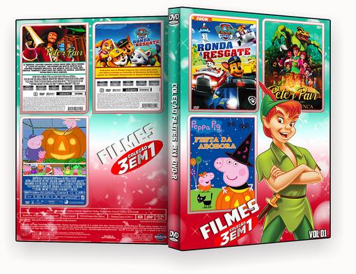 CAPA DVD – COLEÇÃO DESENHO VOL 01 – ISO