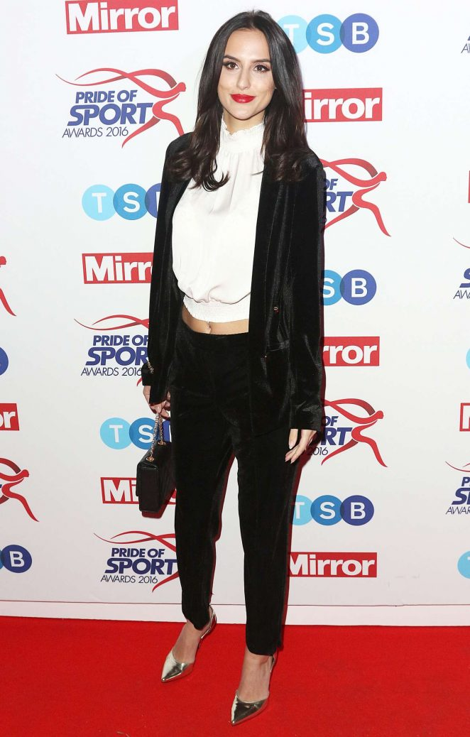 UK Journalist Lucy Watson At Pride of Sports Awards