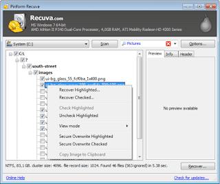 cara mengembalikan file yang terhapus di android dengan recuva file recovery