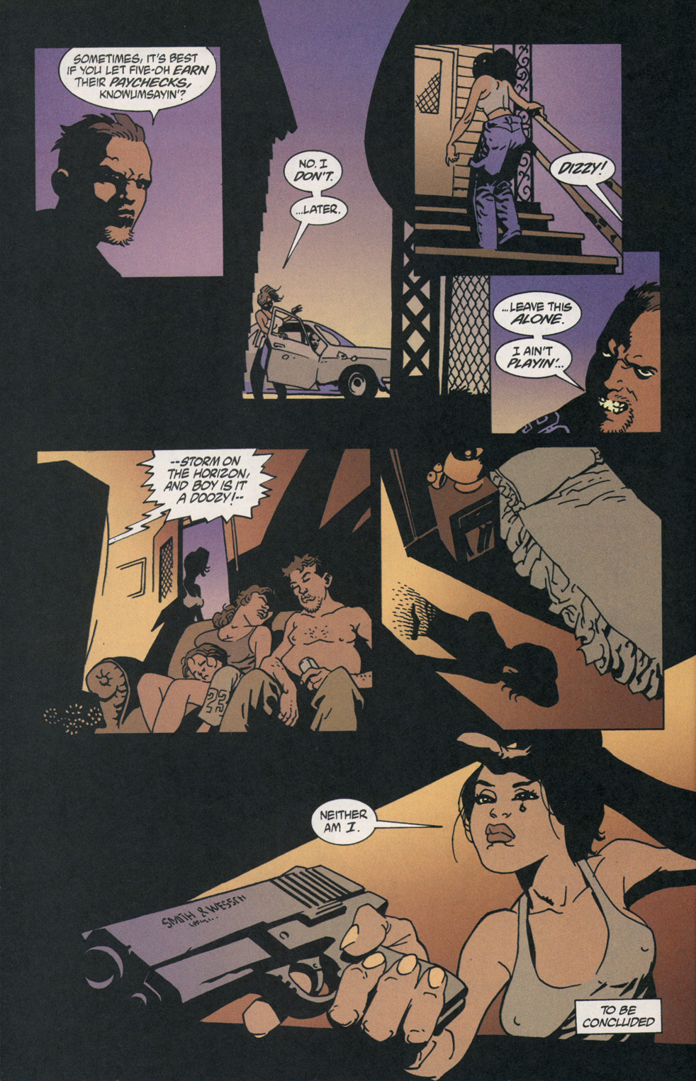 Read online 100 Bullets comic -  Issue #2 - 22