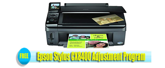 Epson Stylus CX8400Adjustment Program