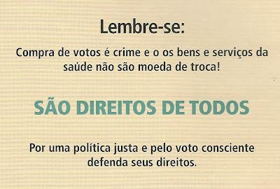 Image result for compra de votos é crime