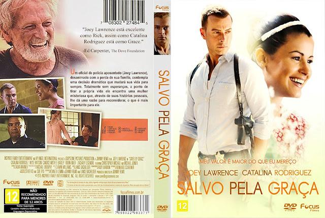 Capa DVD Salvo Pela Graça [Exclusiva]