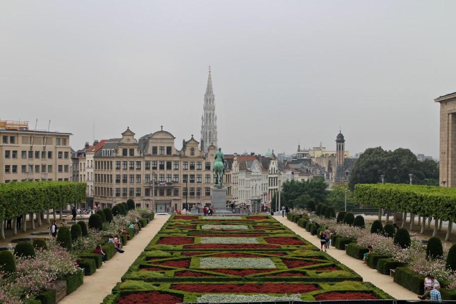 mont-des-arts, bruselas, monte-de-las-artes