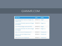 How to create a table of contents or sitemap in blogger or blogspot