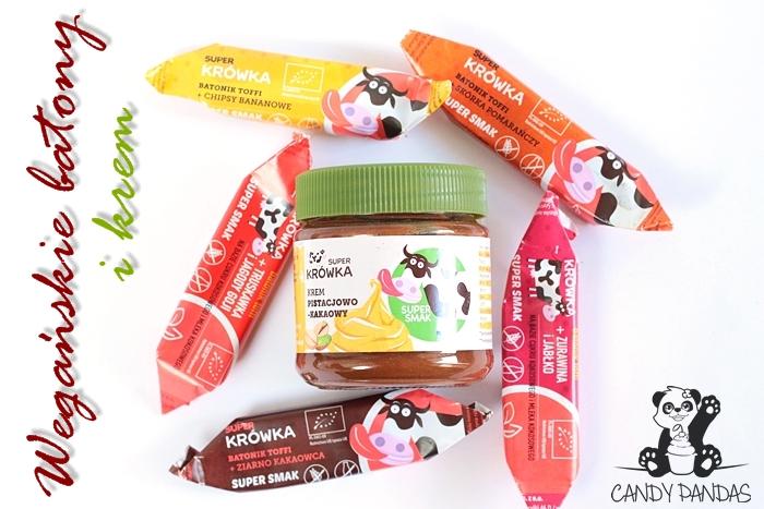 Wegańskie batony i krem pistacjowo-kakaowy - Super Krówka