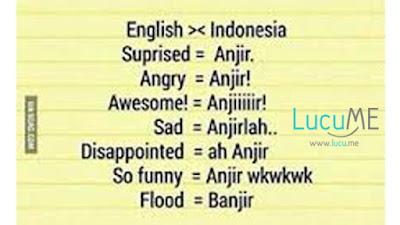 14 Meme 'Belajar Bahasa Inggris' Ini Lucu Banget Bikin Ketawa Ngakak