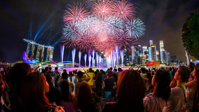 Marina Bay Singapore Countdown (31/12)