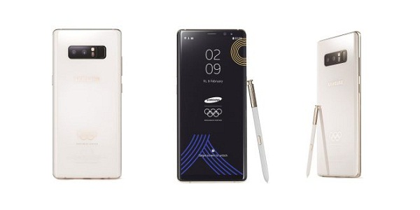 Samsung Launches Limited Version of Note 8