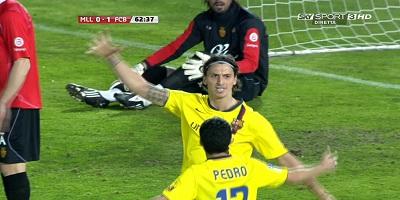 LFP-Week-29 Real Mallorca 0 vs 1 Barcelona 27-03-2010
