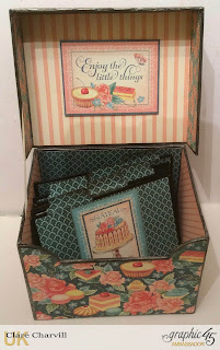 Cafe Parisian Recipe Box Clare Charvill Graphic 45