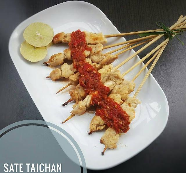 resep sate, sate taichan, resep sate populer