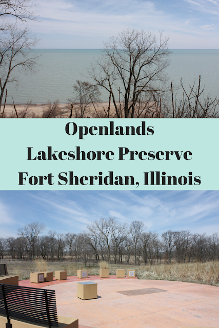 Lake Michigan Serenity at Openlands Lakeshore Preserve in Fort Sheridan, Illinois