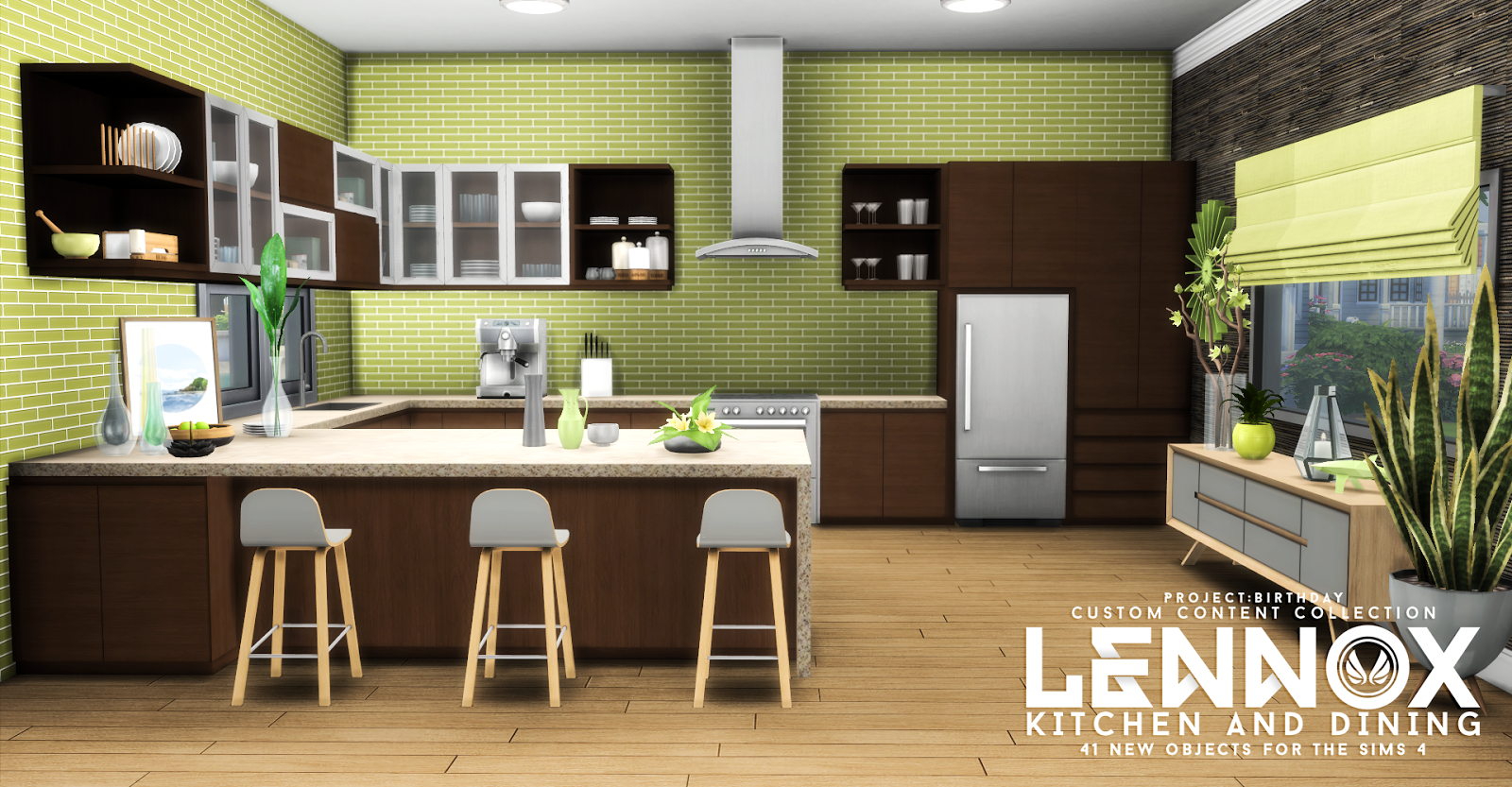 Lennox Kitchen And Dining Set By