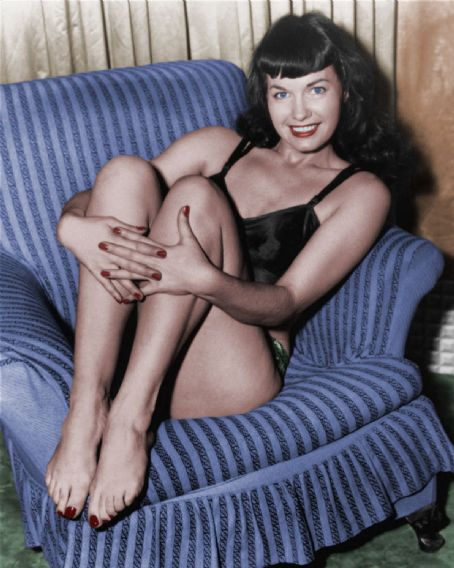 Betty Page Photos: Chatter Busy: Bettie Page Quotes