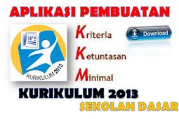 Aplikasi KKM Kurikulum 2013 Jenjang Sekolah Dasar