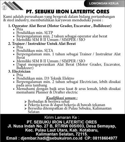 Lowongan Pekerjaan Di Wilayah Banjarmasin 2013 Portal Info Lowongan Kerja Terbaru Di Solo Raya Lowongan Pekerjaan Terbaru Wilayah Kalimantan Selatan Banjarmasin