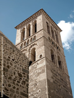 Torre mudéjar de la parroquia de Santo Tomé, Toledo.