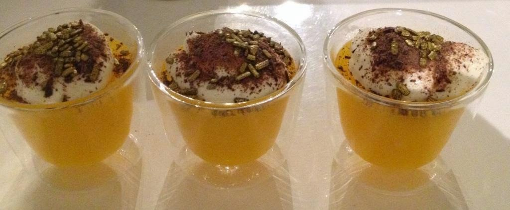 Christmas in a glass - orange-ginger jelly