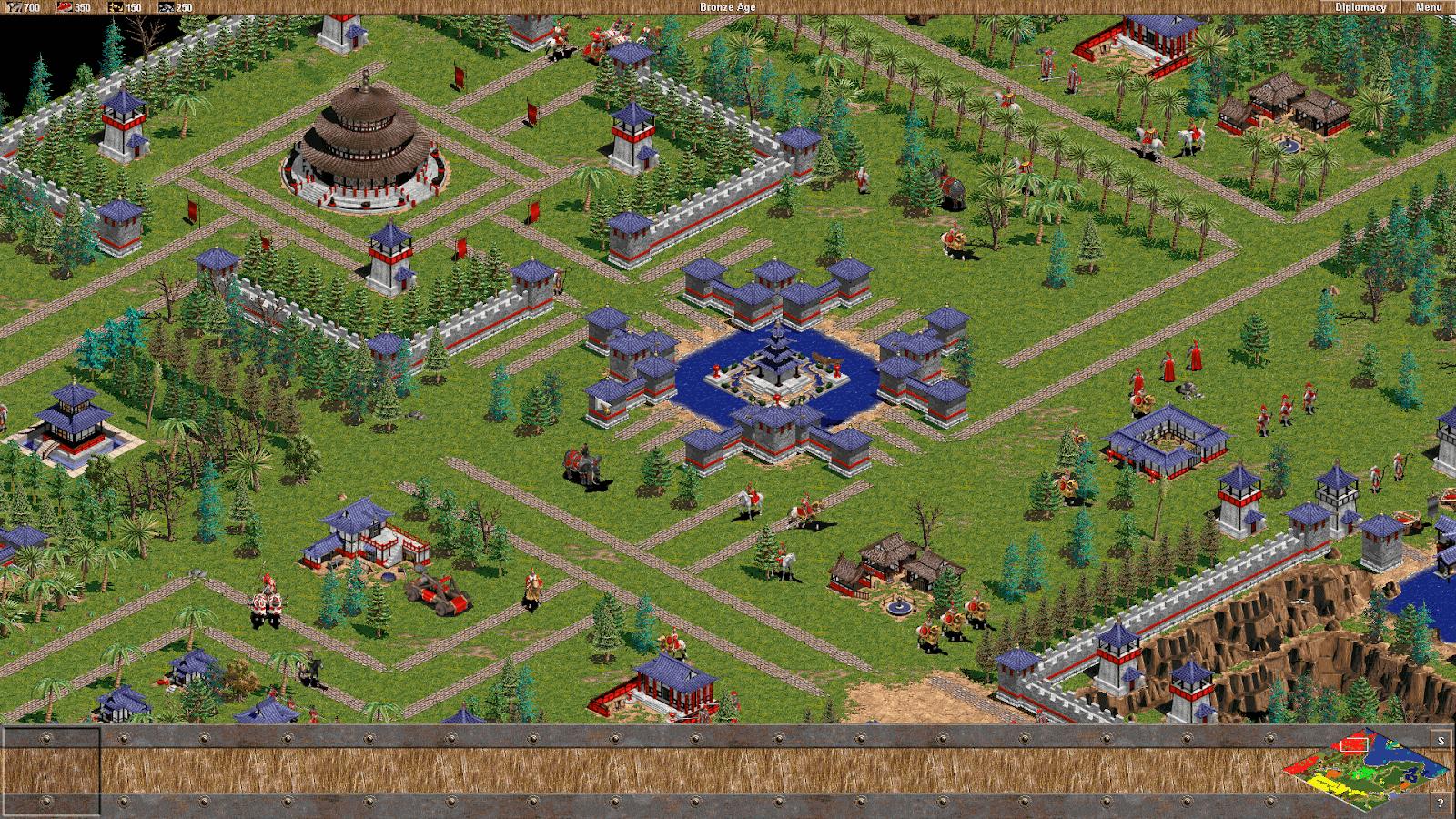 Download AOE 1 Full - Đế Chế Xanh bản dùng được lệnh - Age Of Empires 1