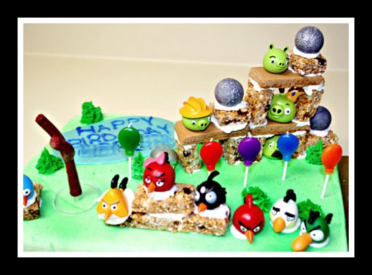 Angry Birds Go Cake Toppers