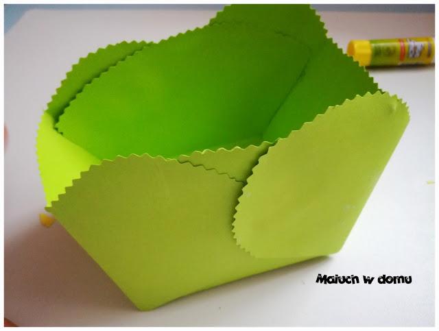Jak zrobić pudełeczko z tektury na drobiazgi