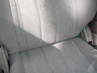 Image: Looks like a crayon melted on the passenger seat? I'll try to get that out this weekend - by Ken Starks's (kds0628) on Photobucket