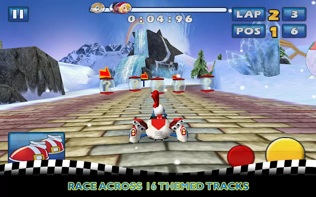 sonic and all stars racing apk obb