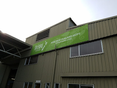 NZ Hops facility.