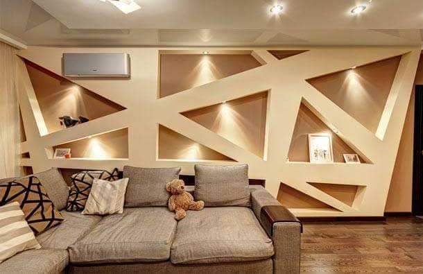 25 Amazing Gypsum Board Ceiling To Beautify Interior Design