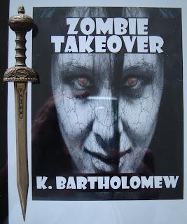 Portada del libro Zombie Takeover, de K. Bartholomew