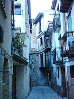 Calle Palacio, El Palau, El Palacio