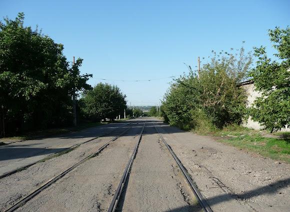 Костянтинівка. Трамвайна лінія протяжністю 50 км